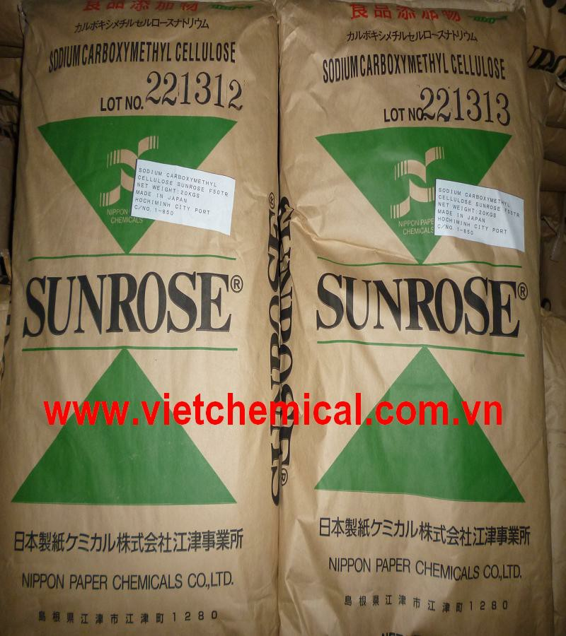 SODIUM CARBOXYMETHYL CELLULOSE SUNROSE F50